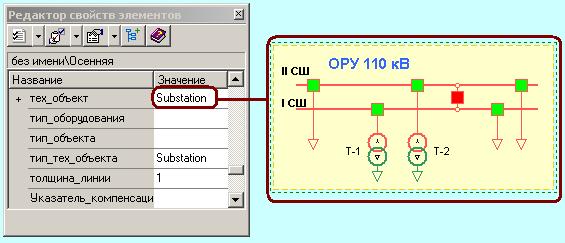 Задание типа объекта CIM, соответствующего объекту Модус